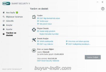 Eset Smart Security v9.0.375.1 Türkçe