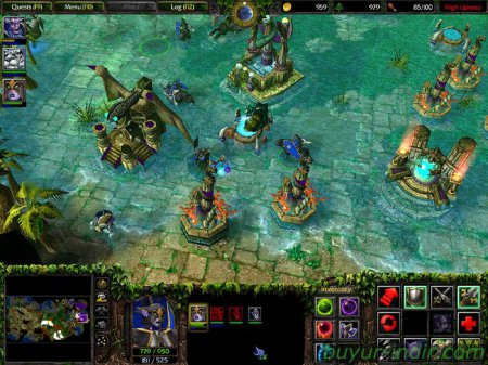 Warcraft III: Frozen Throne Tek Link
