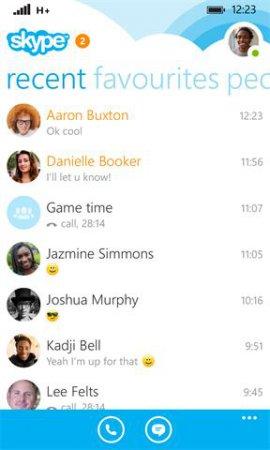 Skype v2.31.0.9 XAP Windows Phone