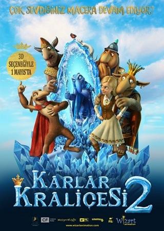 Karlar Kraliçesi 2 BRRip Türkçe Dublaj