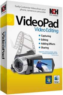 NCH VideoPad Video Editor Professional v8.56
