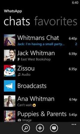 WhatsApp v2.12.226.0 XAP Windows Phone