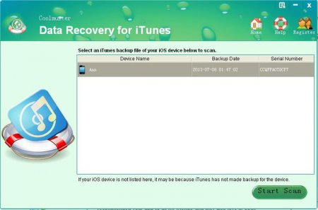 Coolmuster Data Recovery for iTunes v2.1.38 Full