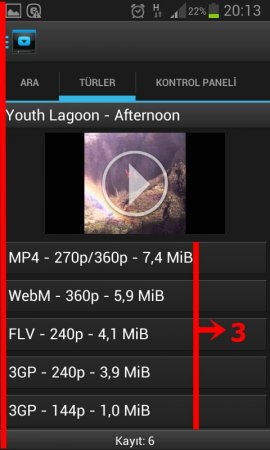 Dentex Youtube Downloader v4.8.2 TR APK Full