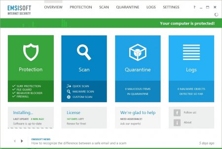 Emsisoft Internet Security v11.0.0.6131 Full