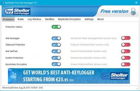 SpyShelter Free Anti-Keylogger v10.7.0