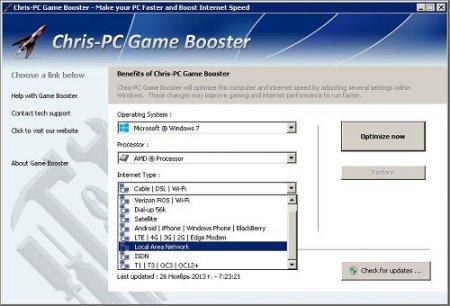 Chris PC Game Booster v3.40
