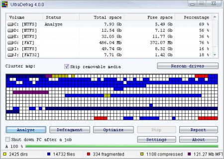 UltraDefrag v7.0.0