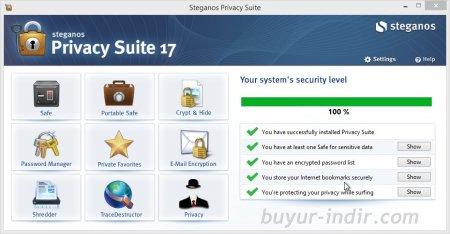 Steganos Privacy Suite v18.0.0.12007
