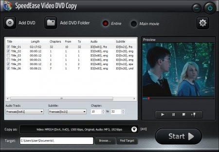 SpeedEase Video DVD Copy v7.0.2