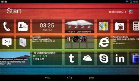 Home 8+ like Windows8 Launcher v4.0 APK