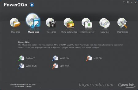 CyberLink Power2Go Platinum v11.0.1202.0