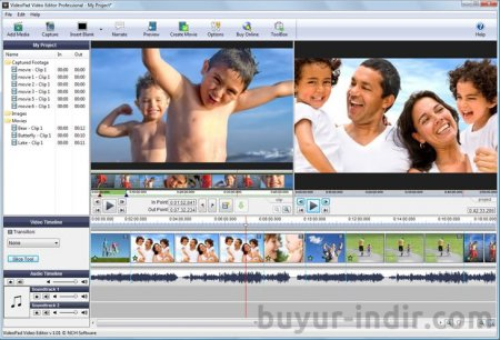 NCH VideoPad Video Editor Professional v4.45