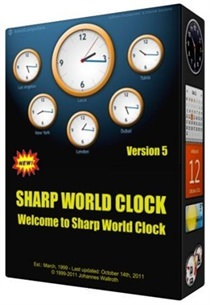 Sharp World Clock v8.7.4