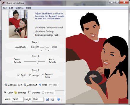 Caricature Software Photo to Cartoon v7.6086.39169