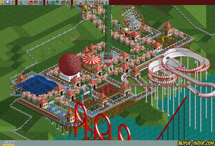 Roller Coaster Tycoon Deluxe Rip Tek Link indir
