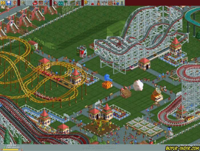 roller coaster tycoon 3 indir full