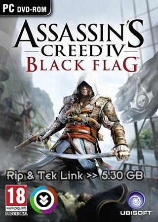 Assassin's Creed 4: Black Flag Rip Tek Link indir
