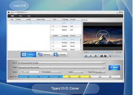 Tipard DVD Cloner v6.2.22