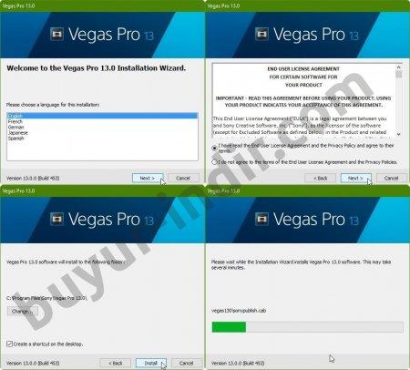 Sony Vegas Pro 13 Resimli Kurulum ve Lisanslama