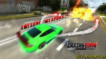 Crash and Burn Racing PC