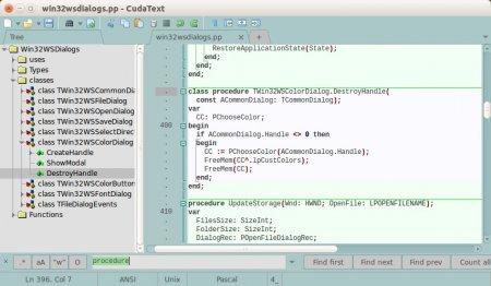 CudaText v1.2.28.1 Portable