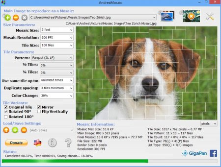 AndreaMosaic v3.36.4 Portable