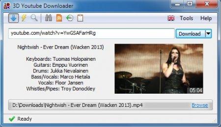 3D Youtube Downloader v1.10