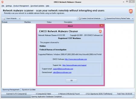 EMCO Network Malware Cleaner v4.9