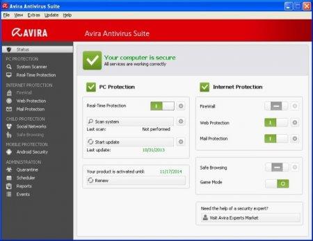 Avira Antivirus Suite 2014 Türkçe