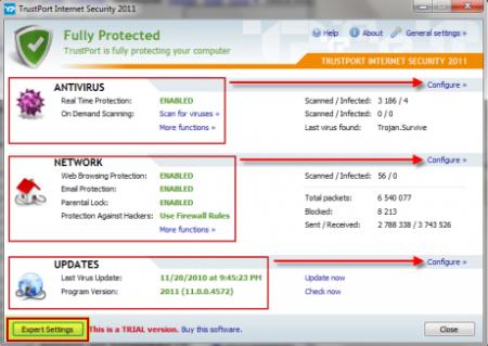 TrustPort Internet Security v14.0.5.5273