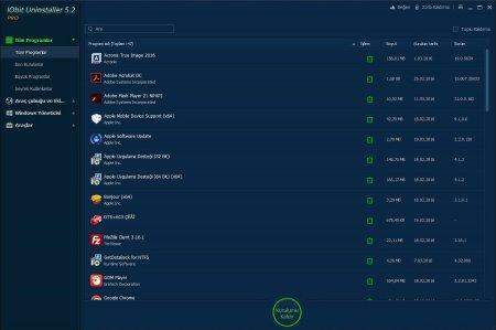 IObit Uninstaller Pro v6.1.0.20 Türkçe