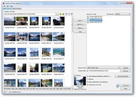 Fastone Photo Resizer v3.3
