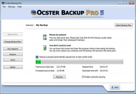 Ocster Backup Pro v7.23