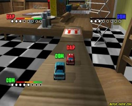Micro Machines V4 Full Tek Link indir