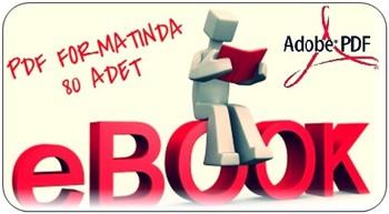 80 Adet PDF Formatında E-Kitap Arşivi