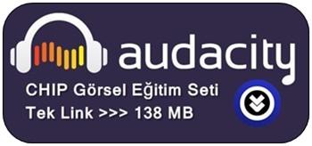 Audacity Türkçe Görsel Eğitim Seti