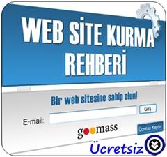 GooMass Web Site Kurma Rehberi