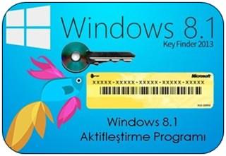 Windows 8.1 Aktifleştirme Programı