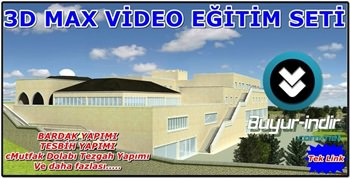 Autodesk 3D Max Türkçe Eğitim Seti