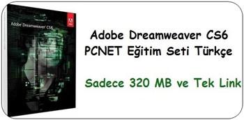 Adobe Dreamweaver CS6 Eğitim Seti Türkçe