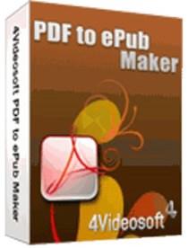 4Videosoft PDF to ePub Maker v3.1.68