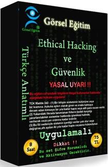 Ethical Hacking (Güvenlik) Görsel Eğitim Seti Tek Link