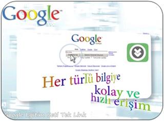 Google Servisleri Eğitim Seti Türkçe