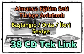Daylight Almanca Eğitim Seti 38 CD