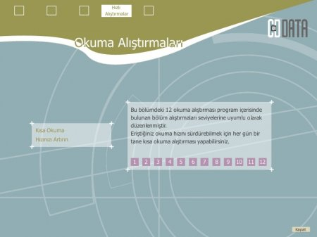Türkçe Hızlı Okuma Programı ve Anlama Teknikleri Eğitimi