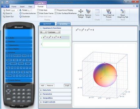 Microsoft Mathematics v4.0