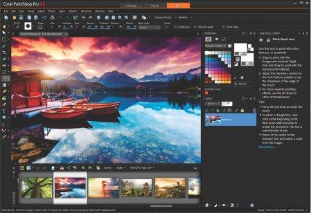 Corel Paint Shop Pro X8 v18.1.0.67 + Eklentileri